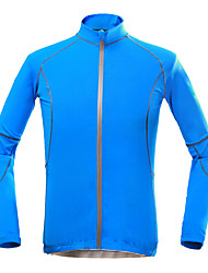 cheap -KORAMAN Men's Cycling Jacket Bike Top Quick Dry, Ultraviolet Resistant, Breathable Holiday, Classic, Honeymoon Polyester Blue Bike Wear / Stretchy
