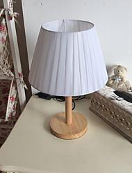 baratos -Tradicional/Clássico Decorativa Luminária de Mesa Para Quarto Corredor Madeira/Bambu Branco Laranja