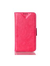 economico -Custodia Per LG G3 G2 Con supporto Con chiusura magnetica Integrale Tinta unica Resistente pelle sintetica per LG G4 LG G3 LG G2