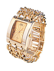 cheap -Men's Dress Watch Quartz Japanese Quartz Casual Watch Alloy Band Luxury Gold