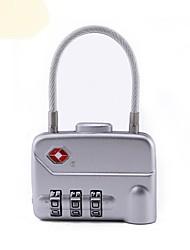 Недорогие -механический код блокировка путешествие за границей таможенный код блокировка багажная коробка три булавка навесной замок tsa320