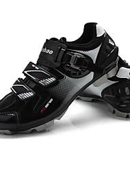 abordables -Tiebao Chaussures de Vélo de Montagne Chaussures Vélo / Chaussures de Cyclisme Homme Ventilation Respirable Vélo tout terrain / VTT PU de