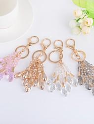 cheap -Birthday Friends Wedding Keychain Favors Crystal Alloy Keychain Favors - 1