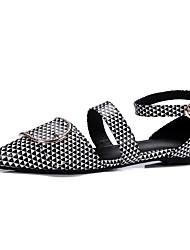 Недорогие -Жен. Обувь Лакированная кожа Весна / Лето Удобная обувь / Оригинальная обувь На плокой подошве На плоской подошве Заостренный носок Пряжки