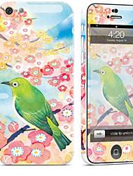 baratos -1 Pça. Proteção Autocolante para Resistente a Riscos Pintura à Óleo Estampa PVC iPhone 5c