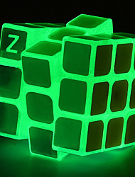 cheap -Rubik's Cube z-cube Luminous Glow Cube Stone Cube 3*3*3 Smooth Speed Cube Magic Cube Puzzle Cube Office Desk Toys Stress and Anxiety