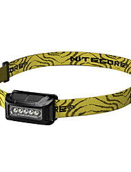 cheap -Nitecore NU10 Headlamps LED 160 lm 5 Mode with USB Cable Portable Water Resistant / Water Proof Impact Resistant Wearproof