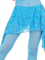 baratos -Dança do Ventre Comum Mulheres Treino Elastano Renda Cinto Xale de Dança do Ventre