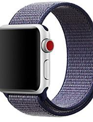 abordables -Bracelet de Montre  pour Apple Watch Series 3 / 2 / 1 Apple Boucle Classique Nylon Sangle de Poignet