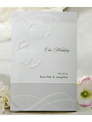 cheap -Wrap & Pocket Wedding Invitations 20 - Invitation Cards Classic Style Embossed Paper Embossed