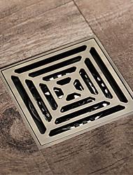abordables -Drainage Antique Laiton Intégré