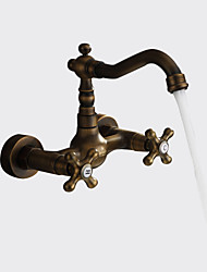 cheap -Sprinkle® Kitchen Faucet Antique Traditional Retro  Antique Brass