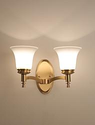 preiswerte -Ministil Landhaus Stil Wandlampen Für Wohnzimmer Schlafzimmer Metall Wandleuchte IP44 110-120V 220-240V 5W