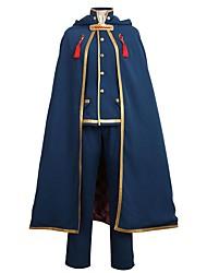 baratos -Inspirado por IDOLiSH7 Fantasias Anime Fantasias de Cosplay Ternos de Cosplay Outro Manga Longa Casaco Camisa Calças Capa Chapéu Para