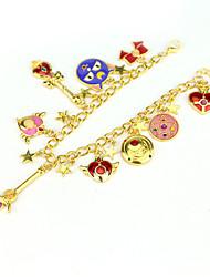 baratos -Personalizado cromada Braceletes Noiva Dama de Honor Menina das Flores Roupa Diária