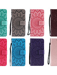 cheap -Case For LG V30 / Q8 Wallet / Card Holder / with Stand Full Body Cases Mandala Hard PU Leather for LG X Power / LG V30 / LG V20 / LG G6