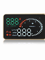 X6 3 Head Up Display Plug and play for Truck Bus Bil Vis KM / h MPH
