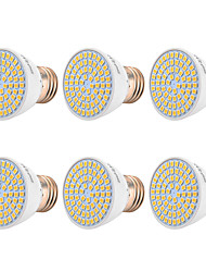 cheap -YWXLIGHT® 6pcs 7W 500-700 lm E26/E27 LED Spotlight 72 leds SMD 2835 Warm White Cold White Natural White 110-130V 220-240V
