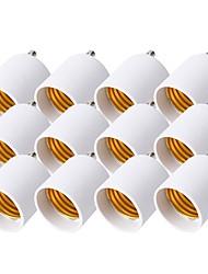 abordables -YouOKLight 12 pcs GU 24 à E27 / E26 Adaptateur Accessoire d'ampoule Prise de lumière Plastique