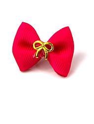 Недорогие -Аксессуары для создания прически Однотонный Милые На каждый день Однотонный Терилен Пурпурный