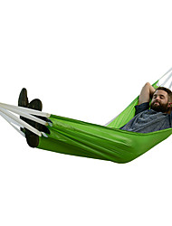 cheap -Naturehike Camping Hammock Outdoor Anti-Rollover, Thick Nylon for Camping / Travel / Outdoor - 2 person Orange / Green