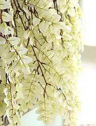 baratos -Flores artificiais 1 Ramo Estilo simples / Pastoril Estilo Plantas Cesto Flor