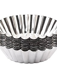 economico -Strumenti Bakeware Alluminio Cucina creativa Gadget / Fai da te Multiuso / per Egg Irregolare Utensili speciali 12pcs