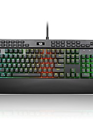cheap -REDRAGON K550RGB Wired Cable RGB Backlit Red Switches 104 Ergonomic Keyboard Gaming Keyboard Portable Comfy Spill-Resistant Backlit
