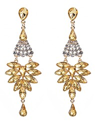 cheap -Women's Bohemian Drop Crystal Drop Earrings - Bohemian / Elegant Red / Blue / Champagne Earrings For Gift / Evening Party