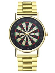 cheap -Women's Chronograph Stainless Steel Band Analog Fashion Gold - Gold One Year Battery Life / SSUO LR626