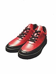 cheap -Men's PU(Polyurethane) Spring / Fall Comfort Sneakers Red / Blue