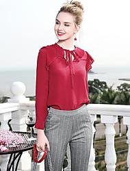 economico -Camicia Per donna Lavoro Basic,Tinta unita