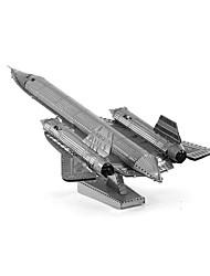 Недорогие -3D пазлы Металлические пазлы Креатив Фокусная игрушка Ручная работа Металл Армия Подставка Игрушки Подарок