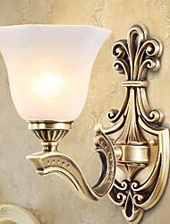abordables -Antireflet Rustique Appliques / Éclairage Salle de séjour / Chambre à coucher / Salle de bain Métal Applique murale 220-240V 40W