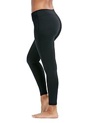 Недорогие -Штаны для йоги Велоспорт Колготки Йога Нормальная strenchy Спортивная одежда Жен. Йога