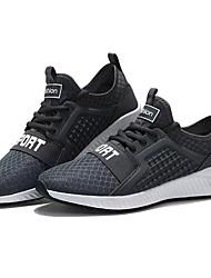 economico -Per uomo Scarpe Maglia traspirante Primavera Autunno Comoda scarpe da ginnastica Footing Corsa per Sportivo Nero Grigio Blu