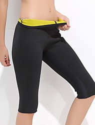 abordables -Pantalon de yoga Cuissard  / Short Avion-école Vestimentaire Fitness strenchy Vêtements de sport Unisexe Yoga Pilates Exercice & Fitness
