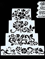 Недорогие -4шт Новинки День рождения Вечеринка Торты пластик Высокое качество Креатив Десертные инструменты Десерт Декораторы