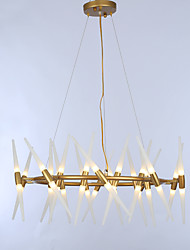 abordables -ZHISHU Lustre Lumière d'ambiance - Ajustable, 110-120V / 220-240V Ampoule non incluse / G4 / 15-20㎡