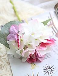 Недорогие -Искусственные Цветы 1 Филиал Деревня / Свадьба Гортензии Букеты на стол
