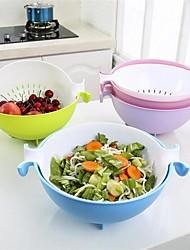 Недорогие -Пластик Многофункциональный Творческая кухня Гаджет Для приготовления пищи Посуда Для фруктов и овощей, 1шт