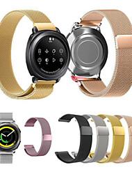 preiswerte -Uhrenarmband für Gear Sport Gear S2 Classic Huawei Watch 2 Samsung Galaxy Mailänder Schleife Edelstahl Handschlaufe