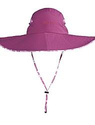 Недорогие -Худи и толстовка Шляпа от солнца Кепка с защитой от UV-лучей Быстровысыхающий Устойчивость к УФ Лето Розовый Универсальные Рыбалка Пешеходный туризм На открытом воздухе Цветочные / ботанический
