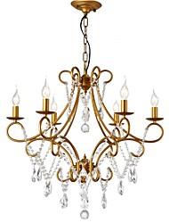 cheap -LightMyself™ 6-Light Chandelier Ambient Light 110-120V / 220-240V Bulb Not Included / 5-10㎡ / E12 / E14