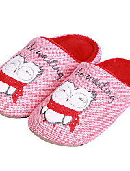 cheap -Geometric Pattern Slide Slippers Women's Slippers Polyester Terylene Animal Print
