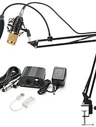 baratos -KEBTYVOR BM800 Com Fio 3.5mm Microfone Microfone Microfone Portátil Para Microfone de Computador