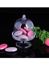 baratos -Irregular Cilindro Material Plástico Suportes para Lembrancinhas com Pontos Outros Acessórios Casamento Frasco de Doce Boticário