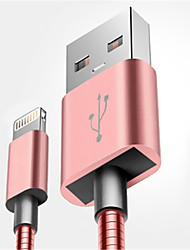 cheap -Lightning High Speed / Quick Charge Cable iPhone for 100 cm For Aluminum