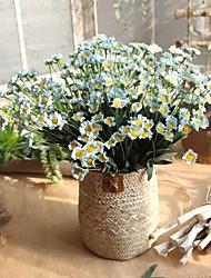 Недорогие -Искусственные Цветы 1 Филиал Деревня / Свадьба Ромашки Букеты на стол