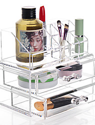 Недорогие -Хранение косметики Многофункциональный Прост в применении Высокое качество Аксессуар для хранения Мода пластик 1шт - Для дома